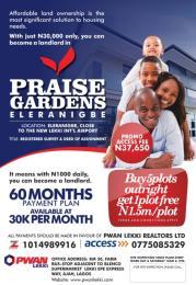 Residential Land Land for sale Elenaligbe ibeju lekki Eleko Ibeju-Lekki Lagos