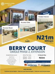 Residential Land Land for sale Berry Court Omole phase 2 Ojodu Lagos