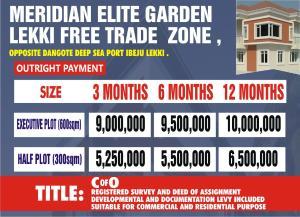 Mixed   Use Land Land for sale Free Trade Zone opposite Dangote Seaport  Free Trade Zone Ibeju-Lekki Lagos
