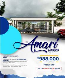 Residential Land Land for sale Amari Gardens, Bogije Bogije Sangotedo Lagos