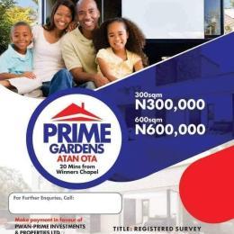 Residential Land Land for sale CLOSE TO CONVENANT UNIVERSITY OTA  Sango Ota Ado Odo/Ota Ogun