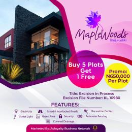 Serviced Residential Land Land for sale Igbogun Town LaCampaigne Tropicana Ibeju-Lekki Lagos