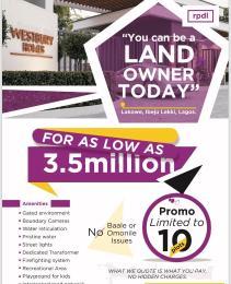 Residential Land Land for sale Located in Beechwoood Estate,  south East of Adiva Plainfield, lakowe ibeju Lekki, Lagos.  Ajah Lagos