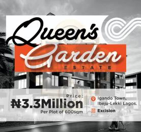 Residential Land Land for rent 10 minutes walk to Eleko Beach, IGANDO Town Ibeju-Lekki Lagos