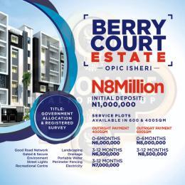 Mixed   Use Land Land for rent Opic Iseri Obafemi Owode Ogun