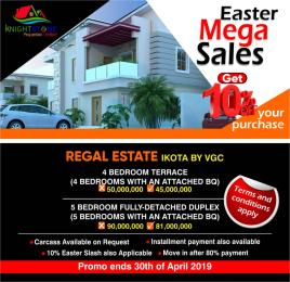 4 bedroom Terraced Bungalow House for sale ikota VGC Lekki Lagos