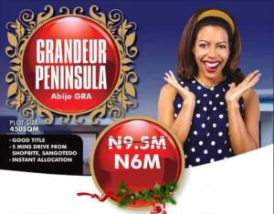 Serviced Residential Land Land for sale Abijo GRA, Sangotedo,  Ibeju Lekki Lagos Nigeria  Free Trade Zone Ibeju-Lekki Lagos