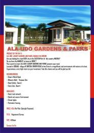 Residential Land Land for sale Ala-Udo Gardens & Parks Ogbaku Owerri Imo