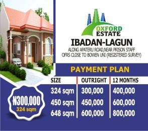 10 bedroom Mixed   Use Land Land for sale Along apateru road, near prison staff OFRS CLOSE TO BOWEN UNI Ibadan Oyo