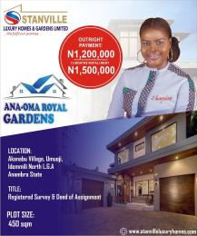 Residential Land Land for sale Akanabu village, Umuoji, Idemmili North LGA Anambra State. Idemili North Anambra
