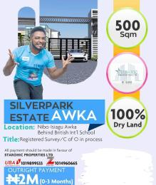 Residential Land Land for sale Isiagu Awka behind British Int'l School.  Awka South Anambra
