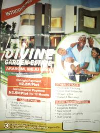 Serviced Residential Land Land for sale Divine Garden Estate is Located @ Dangote Refinery Eleganza Estate New Airport Pan African University Gulf Course. Ibeju-Lekki Lagos