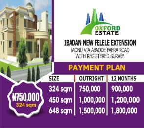 10 bedroom Mixed   Use Land Land for sale Laonu VIA abaode faera road Ibadan Oyo