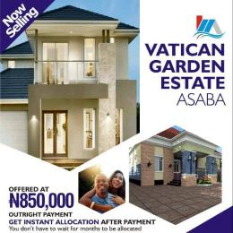 Land for rent Vatican Garden estate Asaba Delta