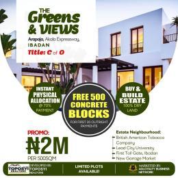 Residential Land Land for sale Arapaja, off akala expressway Akala Express Ibadan Oyo