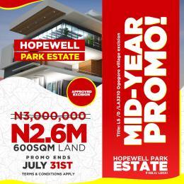Residential Land Land for sale Lapekun, 8 minutes drive from Lekki free trade zone  Free Trade Zone Ibeju-Lekki Lagos