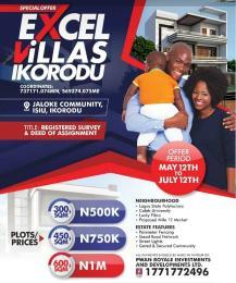 Residential Land Land for sale Jaloke Community, Ikorodu North LCDA, Ikorodu Ikorodu Lagos