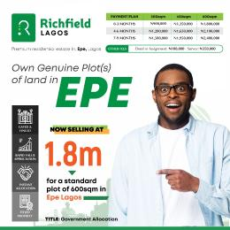 Mixed   Use Land Land for sale Epe Epe Road Epe Lagos