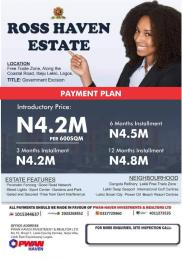 Residential Land Land for rent Oriyanrin Community Free Trade Zone Ibeju-Lekki Lagos