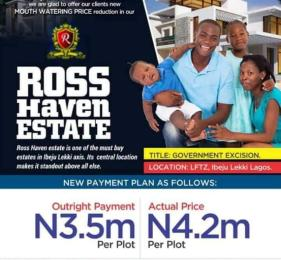 Land for sale Along the Free Trade Zone, Ibeju Lekki. Ibeju-Lekki Lagos