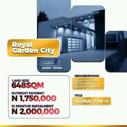 Mixed   Use Land Land for sale 5 Minutes drive from Nestle Food Plc. Mowe Obafemi Owode Ogun