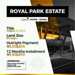 Mixed   Use Land Land for sale Close to Nestlé foods Mowe Obafemi Owode Ogun