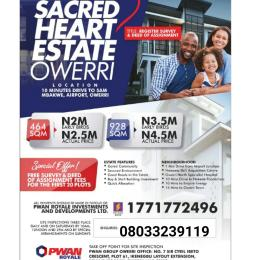 Residential Land Land for sale Airport Road Ngor-Okpala Imo