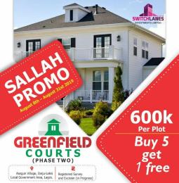 Serviced Residential Land Land for sale  Some minutes drive after the prestigious La Campaigne Tropicana Beach Resort and few minutes drive from the Lekki Free Trade Zone  LaCampaigne Tropicana Ibeju-Lekki Lagos