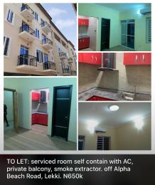 1 bedroom mini flat  Self Contain Flat / Apartment for rent Kazeem Abogun Street, Off Alpha Beach Road, Lekki Lagos Igbo-efon Lekki Lagos