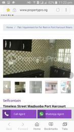 1 bedroom mini flat  Flat / Apartment for rent road 11 Obia-Akpor Port Harcourt Rivers