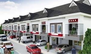 4 bedroom Terraced Duplex House for sale 2nd tollgate orchild road lekki  Lekki Phase 2 Lekki Lagos