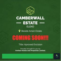 Land for sale Beside Amen Estate Eleko Ibeju-Lekki Lagos - 1