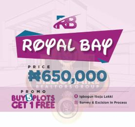 Serviced Residential Land Land for sale Igbogun Town, 7 Minutes From La Campagne Tropicana Beach Resort Ibeju-Lekki Lagos