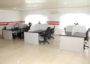 Desk Co working space for rent 3/9 Olu koleosho street. Obafemi Awolowo Way Ikeja Lagos