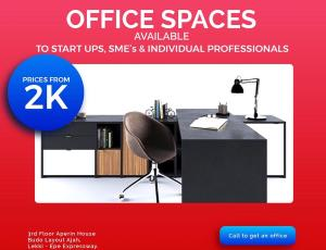 Desk Co working space for shortlet Aperin House, Lekki-Epe Expressway Thomas estate Ajah Lagos