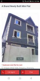 1 bedroom mini flat  Shared Apartment Flat / Apartment for rent Onipanu Shomolu Lagos