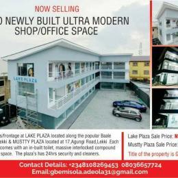 Shop in a Mall Commercial Property for sale 20,baale street Igbo-efon,lekki lagos Igbo-efon Lekki Lagos
