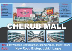 Shop in a Mall Commercial Property for rent New Road Bus stop chevron Lekki Lagos