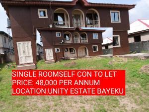 1 bedroom mini flat  Studio Apartment Flat / Apartment for rent UNITY ESTATES  Igbogbo Ikorodu Lagos