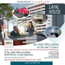 Private Office Co working space for sale 235 Lapal House, Igbosere Obalende Lagos Island Lagos