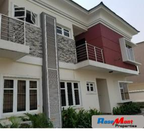 4 bedroom Terraced Duplex House for rent Osborne Phase 2 Osborne Foreshore Estate Ikoyi Lagos - 0