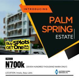 Land for sale Imedu  Orimedu Ibeju-Lekki Lagos