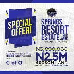 Land for sale - Kuje Abuja