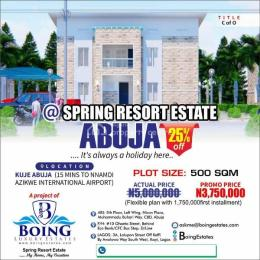 Mixed   Use Land Land for sale  15mins drive from Nnamdi Azikwe Airport Kuje Abuja
