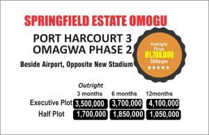 Residential Land Land for sale OPPOSITE NEW STADIUM  Port Harcourt Rivers