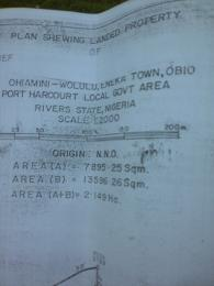 Land for sale Land along Eneka/Igwuruta roadbbefore the civic center Eneka.  Obio-Akpor Rivers - 0