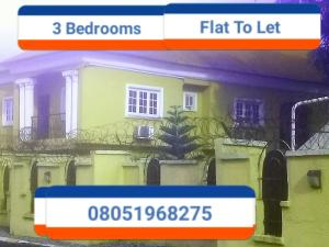 3 bedroom Blocks of Flats House for rent Aikhionbare, Ihama road  Oredo Edo