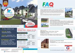 Mixed   Use Land Land for sale Vatican Garden Estate, Enugu. Enugu Enugu