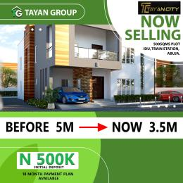 4 bedroom Residential Land Land for sale Idu by the road. First plot close to the Train Station..  Idu Abuja