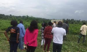 Land for sale Christal Villa Kentops; Elebu G.R.A, Ibadan Oyo